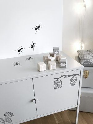Wallstickers Ants