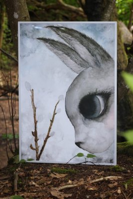 """Nature's own Story"" - The Bunny and willow tree"