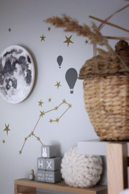 WALLSTICKERS - Stars